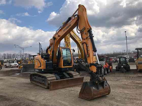 USED 2016 HYUNDAI HX145 LCR Excavator Syracuse, New York