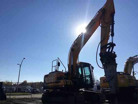 USED 2016 HYUNDAI HX160L Excavator Syracuse, New York