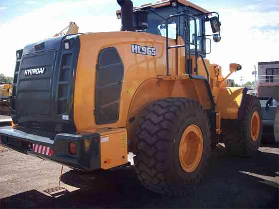 USED 2018 HYUNDAI HL965 Wheel Loader Syracuse, New York