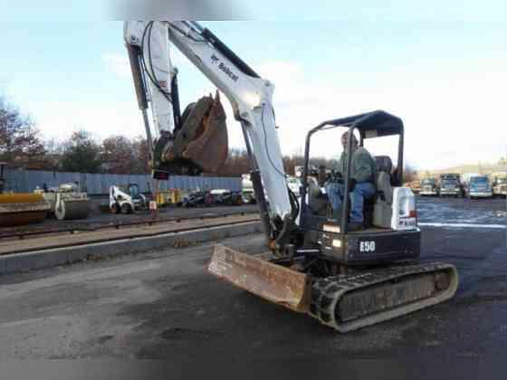 USED 2017 Bobcat E50 Excavator New York City
