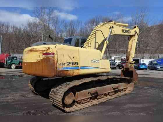 USED 2007 Kobelco SK210LC Excavator New York City