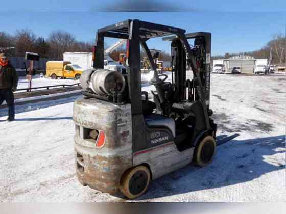 USED 2006 Nissan MCPL02A25LV Forklift New York City