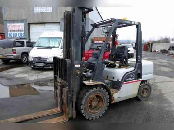 USED 2006 Nissan 70 MYGL02A35V Forklift New York City