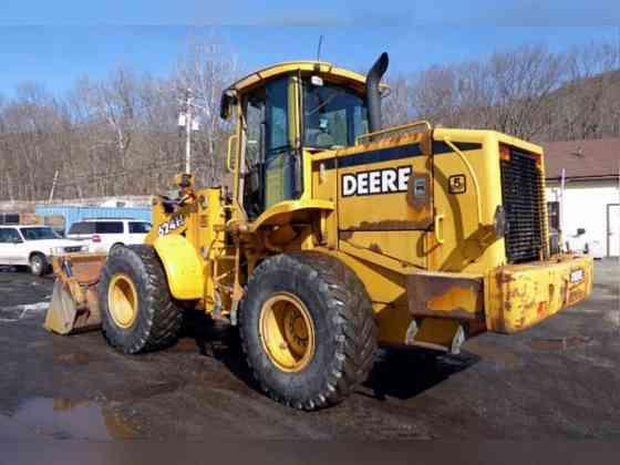 USED 1999 John Deere 624H Wheel Loader New York City
