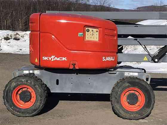 USED 2014 SKYJACK SJ46AJ Boom Lift Syracuse, New York