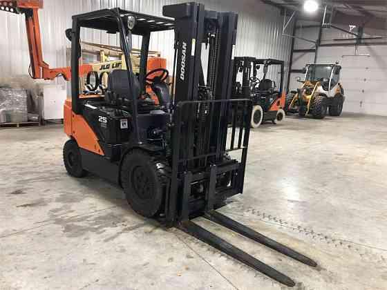 USED 2019 DOOSAN G25P-7 Forklift Syracuse, New York