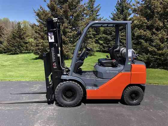 USED 2019 TOYOTA 8FGU25 Forklift Syracuse, New York