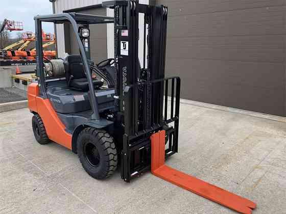 USED 2018 TOYOTA 8FGU25 Forklift Syracuse, New York