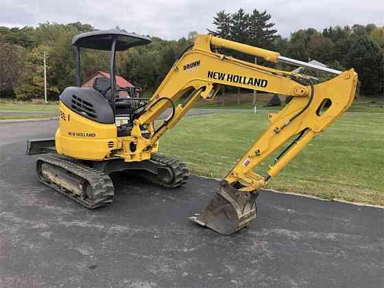 USED 2016 NEW HOLLAND E35B Excavator Syracuse, New York