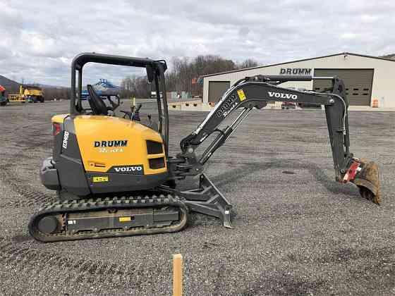 USED 2017 VOLVO ECR40D Excavator Syracuse, New York