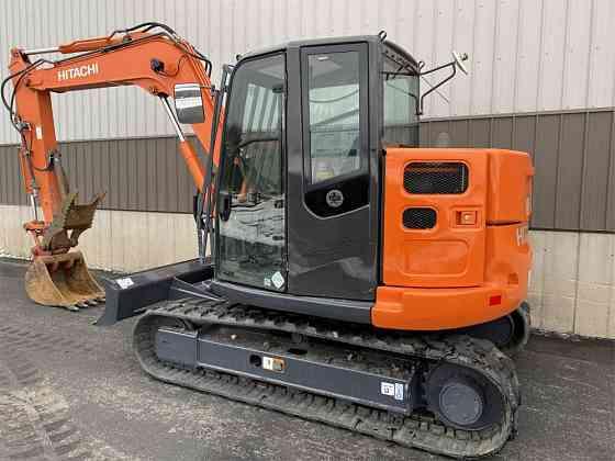USED 2015 HITACHI ZX85US-5 Excavator Syracuse, New York