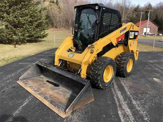 USED 2018 CATERPILLAR 246D Skid Steer Syracuse, New York