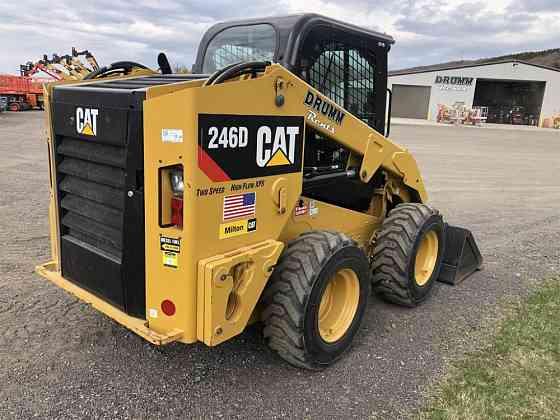 USED 2019 CATERPILLAR 246D Skid Steer Syracuse, New York