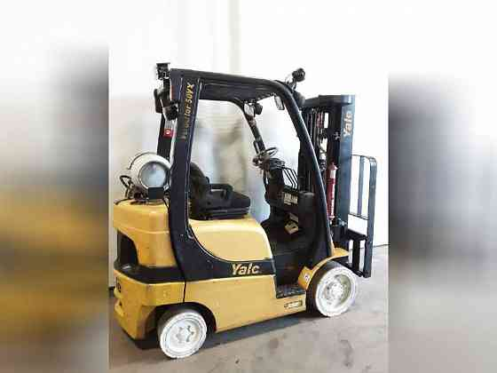 USED 2012 YALE GLC050VX Forklift Charlotte