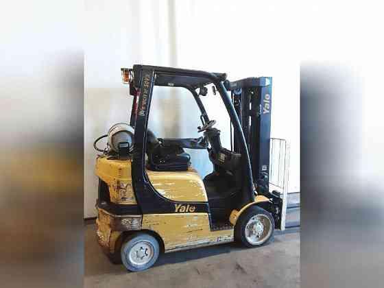 USED 2014 YALE GLC050VX Forklift Charlotte
