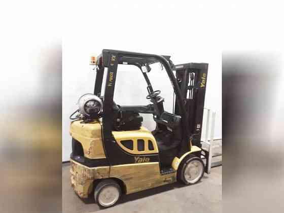 USED 2016 YALE GLC050VX Forklift Charlotte