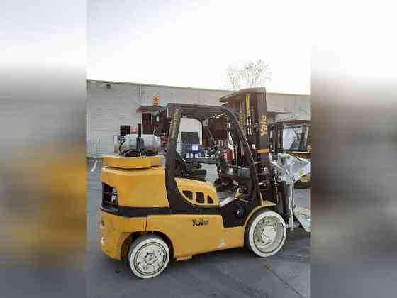 USED 2017 YALE GLC155VX Forklift Charlotte