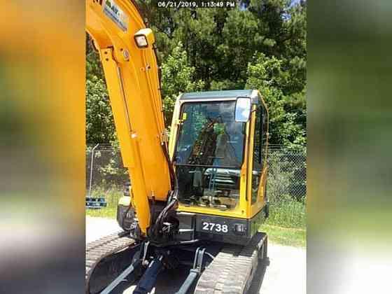 USED 2019 HYUNDAI ROBEX 55-9A Excavator Lexington, North Carolina