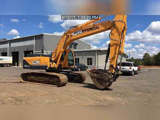 USED 2015 HYUNDAI ROBEX 260 LC-9A Excavator Lexington, North Carolina