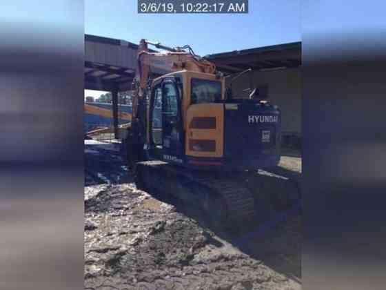 USED 2018 HYUNDAI HX145 LCR Excavator Lexington, North Carolina