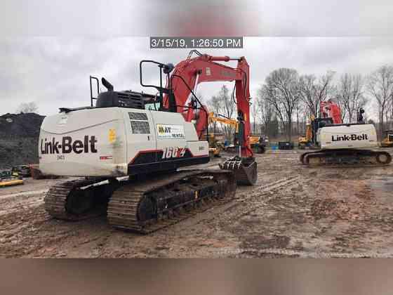 USED 2018 LINK-BELT 160 X4 Excavator Lexington, North Carolina