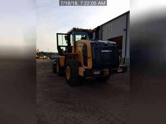 USED 2018 HYUNDAI HL940 Wheel Loader Lexington, North Carolina