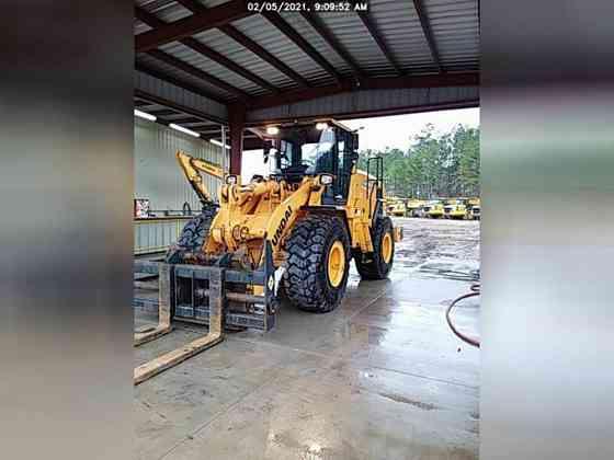 USED 2018 HYUNDAI HL960 Wheel Loader Lexington, North Carolina