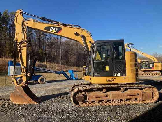 USED 2013 CATERPILLAR 314E LCR Excavator Asheboro