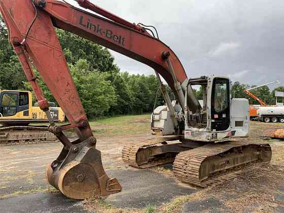 USED 2005 LINK-BELT 225 SPIN ACE Excavator Greensboro