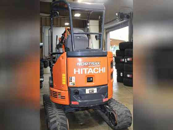 USED 2016 HITACHI ZX26U-5 Excavator Greensboro