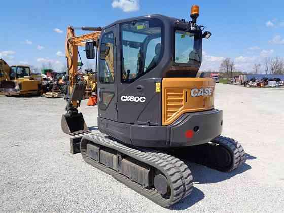 USED 2018 CASE CX60C Excavator Ansonia