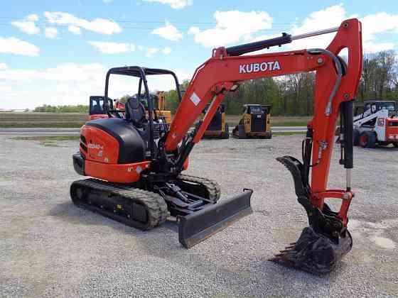 USED 2020 KUBOTA KX040-4 Excavator Ansonia