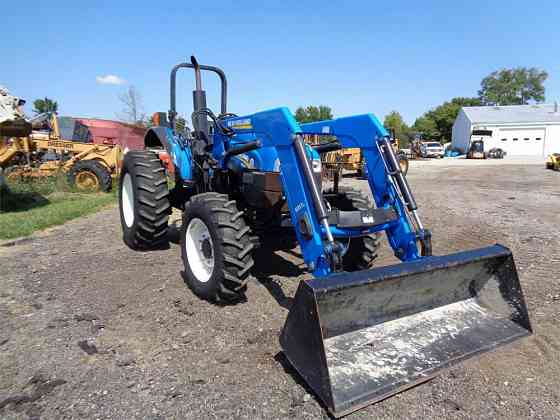 USED 2014 NEW HOLLAND TS6.110 Tractor Ansonia