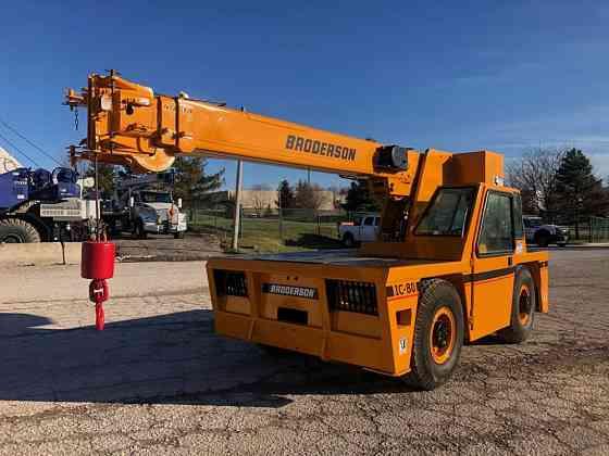 USED 2014 BRODERSON IC80-3J Crane Solon