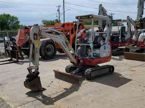 USED 2015 TAKEUCHI TB216 Excavator Columbus, Ohio