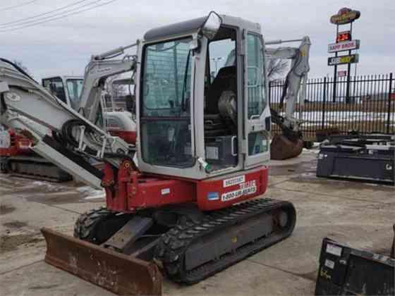USED 2014 TAKEUCHI TB138FR Excavator Columbus, Ohio