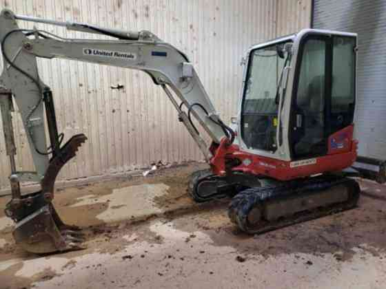 USED 2015 TAKEUCHI TB240 Excavator Columbus, Ohio