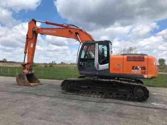 USED 2012 Hitachi ZX200LC-3 Excavator Akron