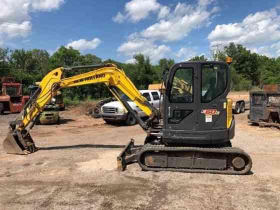 USED 2017 NEW HOLLAND E60C Excavator Duncan