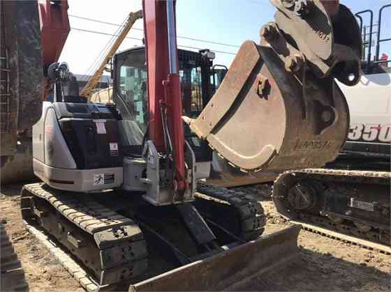 USED 2014 LINK-BELT 80 X3 SPIN ACE Excavator Placentia