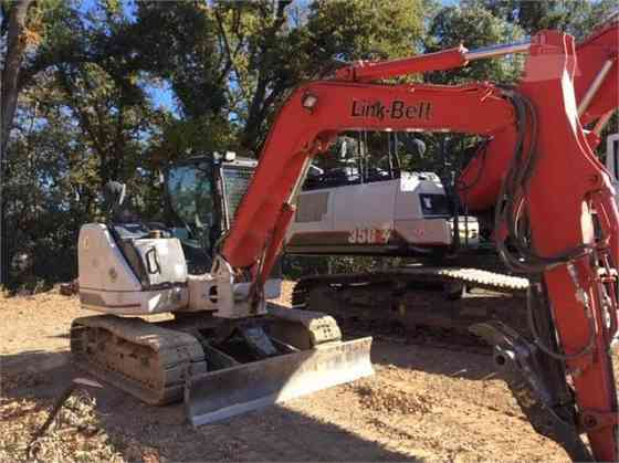 USED 2016 LINK-BELT 80 X3 SPIN ACE Excavator Placentia