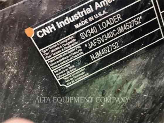 USED 2019 CASE SV340 Skid Steer Macomb