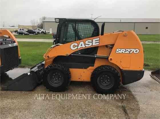 USED 2019 CASE SR270 Skid Steer Macomb