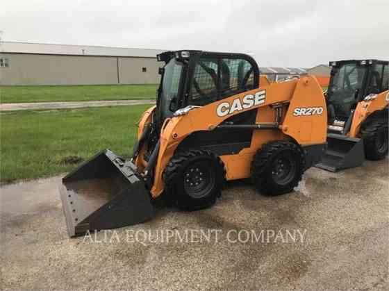 USED 2019 CASE SR130 Skid Steer Macomb