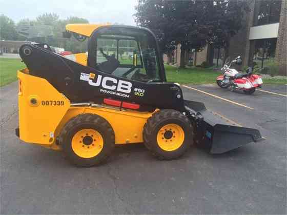 NEW 2016 JCB 260 Skid Steer Concord, New Hampshire