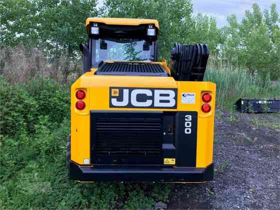 USED 2016 JCB 300 Skid Steer Concord, New Hampshire