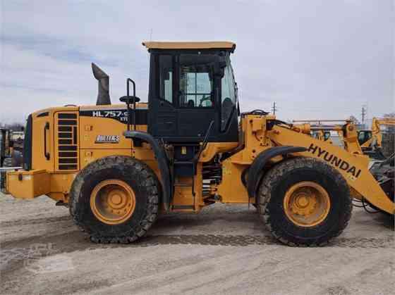 USED 2013 HYUNDAI HL757XTD-9 Wheel Loader Council Bluffs