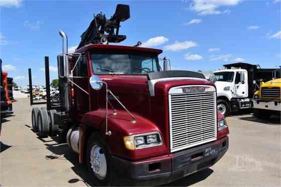 USED 1991 FREIGHTLINER FLD120 Grapple Truck Dyersburg