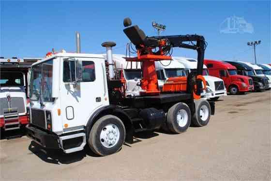 USED 1997 MACK MR688S Grapple Truck Dyersburg
