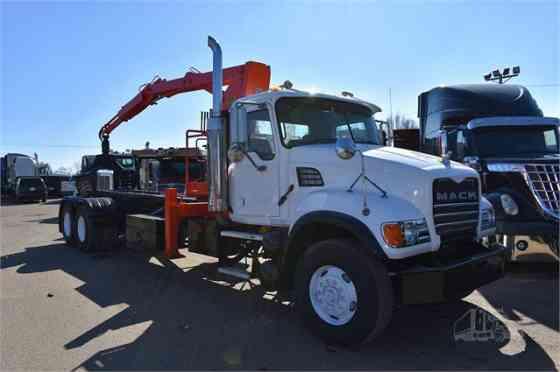 USED 2007 MACK GRANITE CV713 Grapple Truck Dyersburg